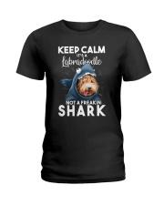 It's A Labradoodle Not A Freakin Shark Ladies T-Shirt thumbnail