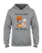 The Most Wonderful Time - Maltipoo Hooded Sweatshirt thumbnail