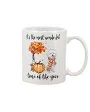 The Most Wonderful Time - Maltipoo Mug thumbnail