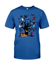 Halloween Cats Tree Classic T-Shirt front