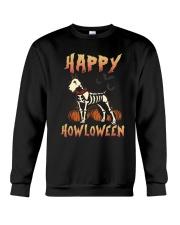 Happy Howloween - Schnauzer Crewneck Sweatshirt thumbnail
