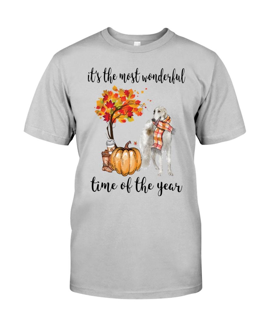 The Most Wonderful Time - Borzoi Classic T-Shirt