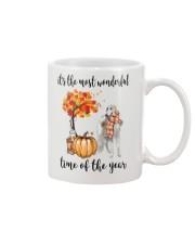 The Most Wonderful Time - Borzoi Mug thumbnail