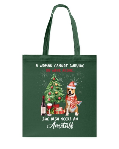 Christmas Wine and Amstaff