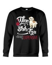Shih Tzu - Therapy is expensive Crewneck Sweatshirt thumbnail