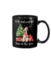 The Most Wonderful Xmas - Wire Fox Terrier Mug tile
