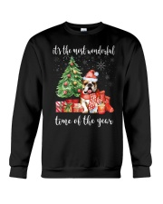 The Most Wonderful Xmas - Bulldog Crewneck Sweatshirt thumbnail