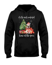 The Most Wonderful Xmas - Bulldog Hooded Sweatshirt thumbnail