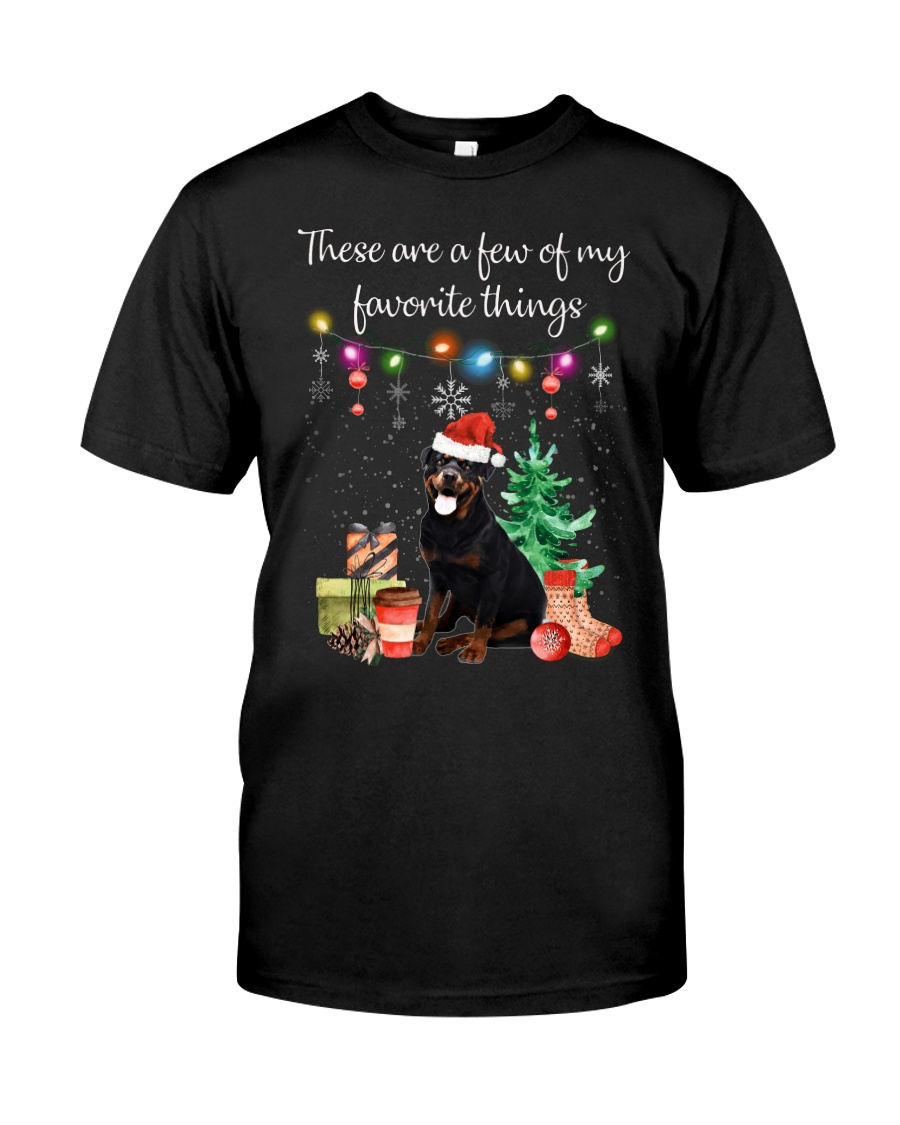 A Few of My Favorite Things - Rottweiler Classic T-Shirt