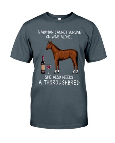 Wine and Thoroughbred
