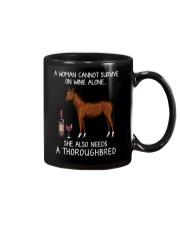 Wine and Thoroughbred Mug thumbnail