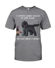 Wine and Barbet Classic T-Shirt front