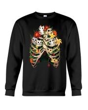 Skeleton Cats Crewneck Sweatshirt thumbnail