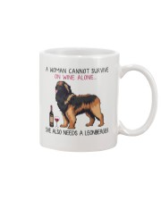 Wine and Leonberger 2 Mug thumbnail