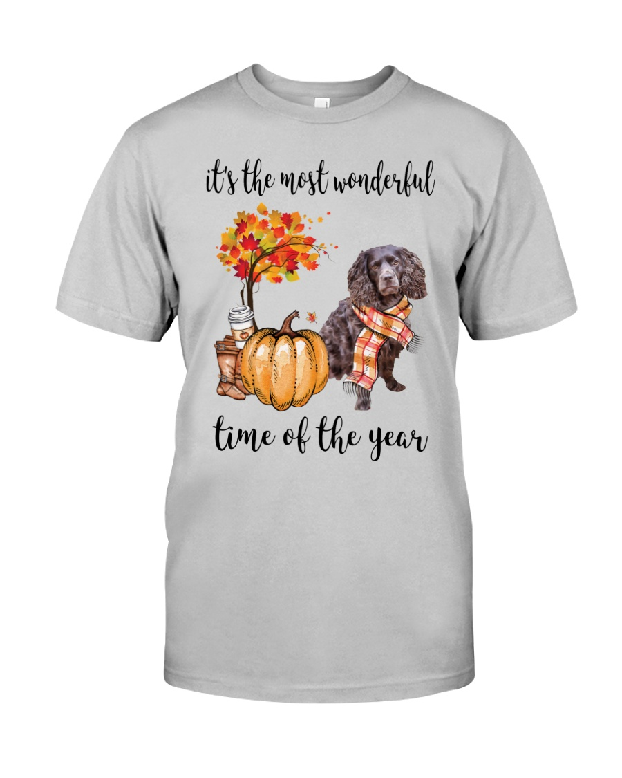 The Most Wonderful Time - Boykin Spaniel Classic T-Shirt