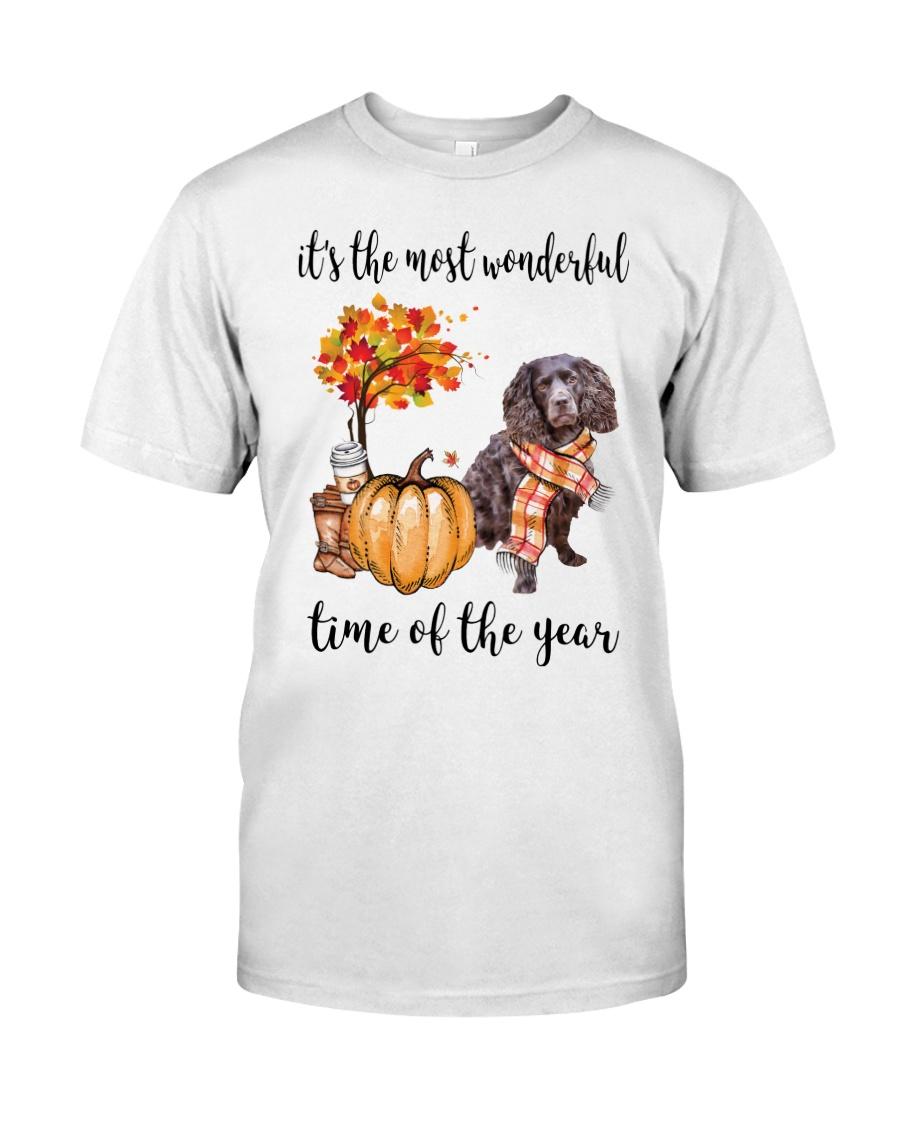 The Most Wonderful Time - Boykin Spaniel Classic T-Shirt