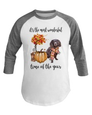 The Most Wonderful Time - Boykin Spaniel Baseball Tee thumbnail