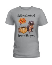 The Most Wonderful Time - Boykin Spaniel Ladies T-Shirt thumbnail