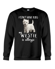 My Westie is Allergic Crewneck Sweatshirt thumbnail