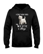 My Westie is Allergic Hooded Sweatshirt thumbnail