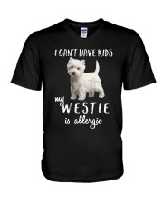 My Westie is Allergic V-Neck T-Shirt thumbnail