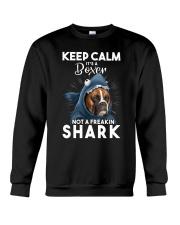 It's A Boxer Not A Freakin Shark Crewneck Sweatshirt thumbnail