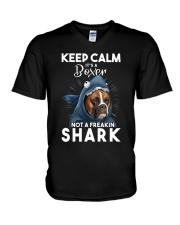 It's A Boxer Not A Freakin Shark V-Neck T-Shirt thumbnail