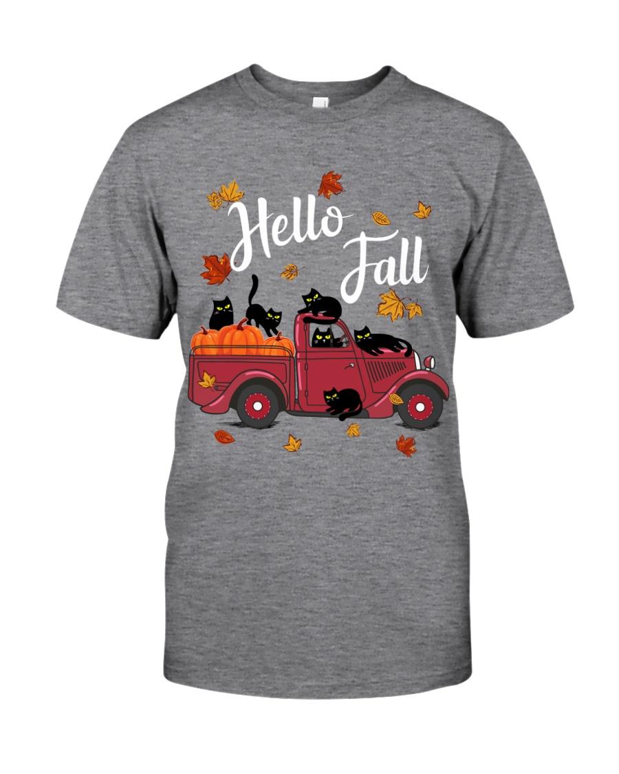 Cats Hello Fall  Classic T-Shirt