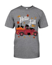Cats Hello Fall  Classic T-Shirt front