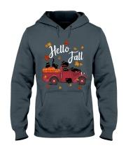 Cats Hello Fall  Hooded Sweatshirt thumbnail