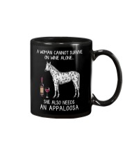 Wine and Appaloosa Mug thumbnail