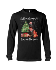 The Most Wonderful Xmas - Great Dane Long Sleeve Tee thumbnail