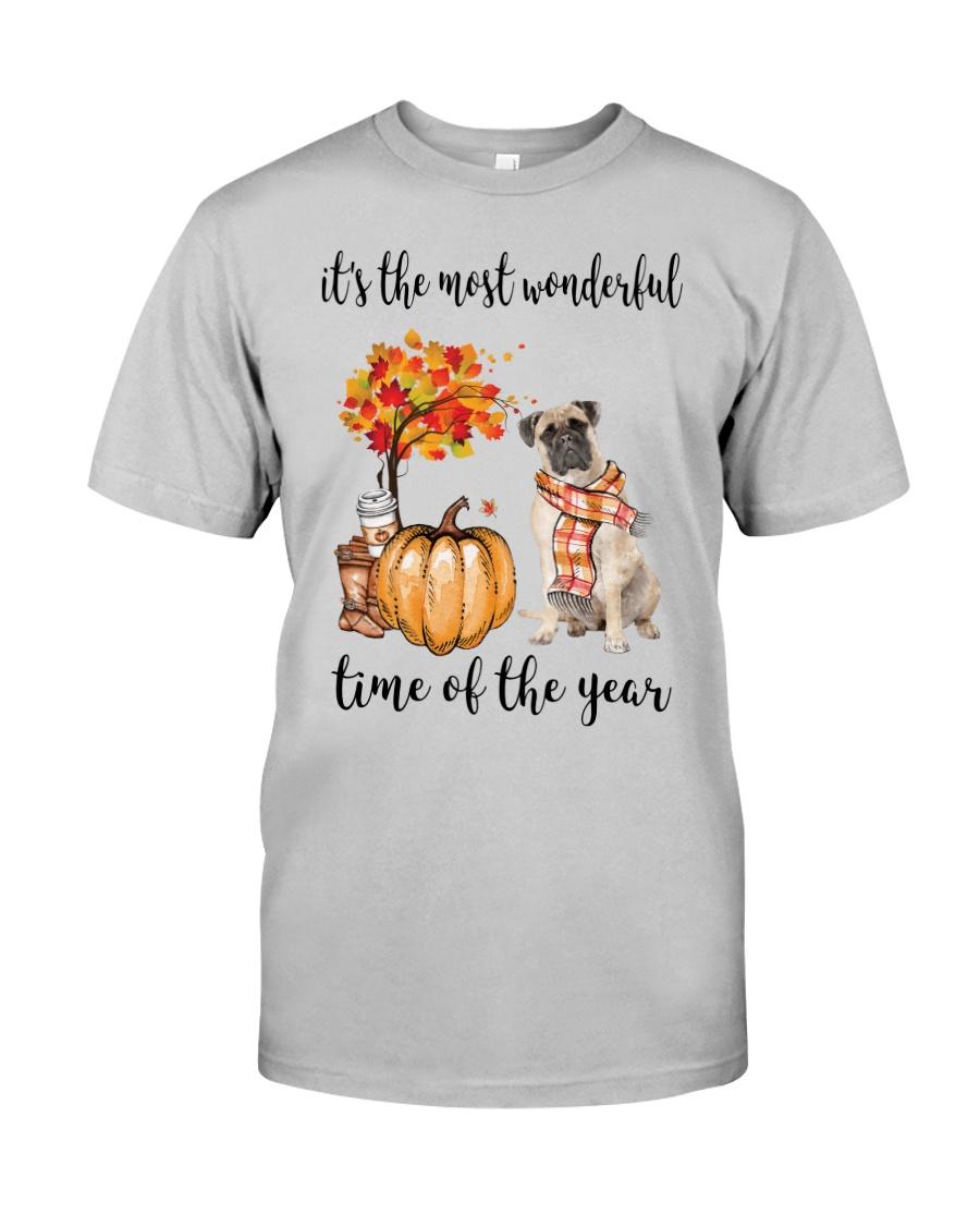 The Most Wonderful Time - Bullmastiff Classic T-Shirt
