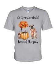 The Most Wonderful Time - Bullmastiff V-Neck T-Shirt thumbnail