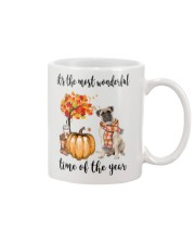 The Most Wonderful Time - Bullmastiff Mug thumbnail