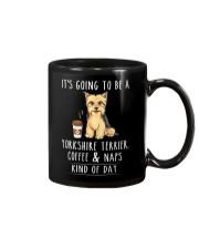 Yorkshire Terrier Coffee and Naps Mug thumbnail