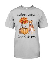 The Most Wonderful Time - Jack Russell Terrier Classic T-Shirt front