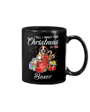 All I Want For Christmas Is Boxer Mug thumbnail