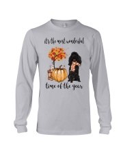 The Most Wonderful Time - Black Poodle Long Sleeve Tee thumbnail