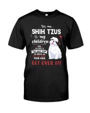 My Shih Tzus - My Children Classic T-Shirt front