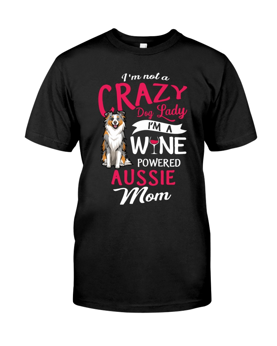 Crazy Lady Aussie Classic T-Shirt