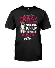 Crazy Lady Aussie Classic T-Shirt front