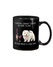 Wine and Chow Chow Mug thumbnail