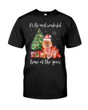 The Most Wonderful Xmas - Chow Chow Classic T-Shirt front