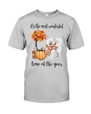 The Most Wonderful Time - Samoyed Classic T-Shirt front