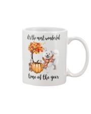 The Most Wonderful Time - Samoyed Mug thumbnail
