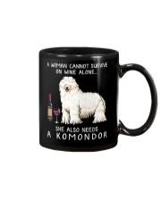 Wine and Komondor Mug thumbnail