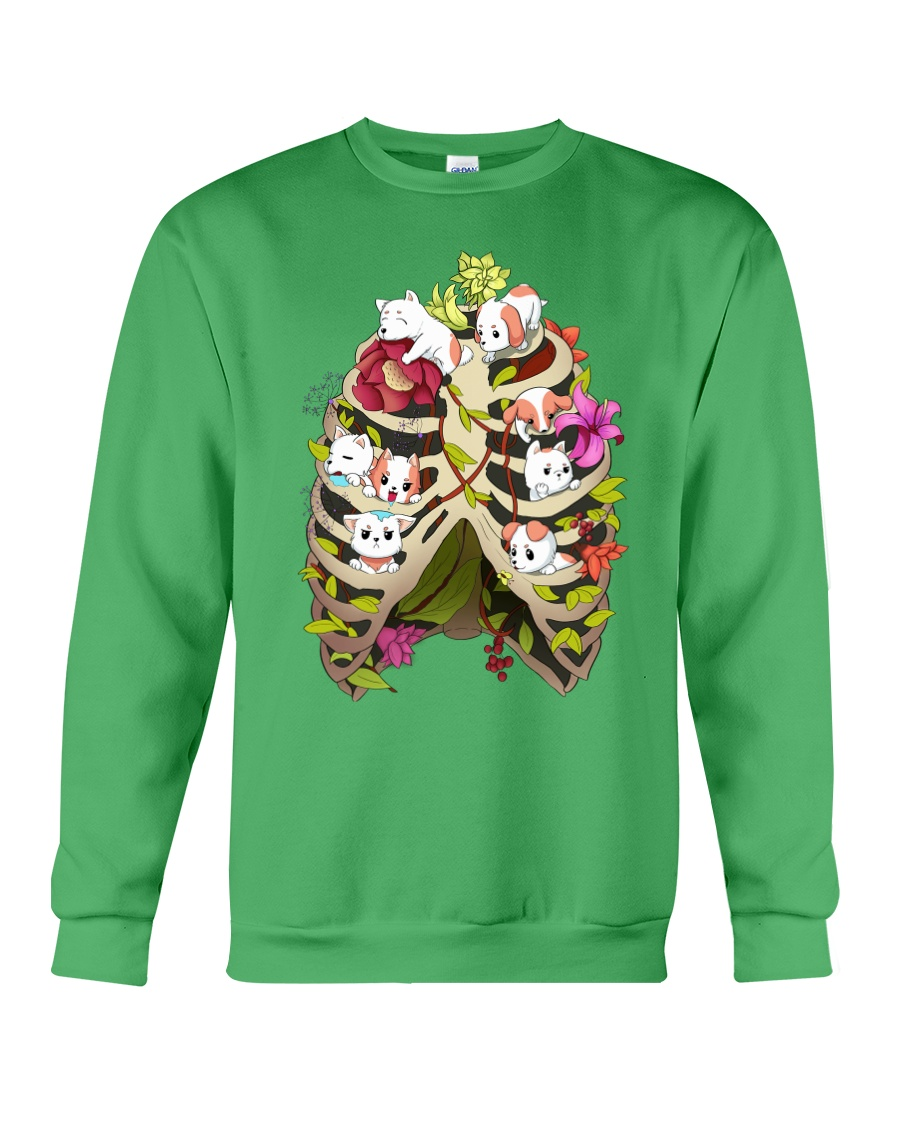 Skeleton Dogs Crewneck Sweatshirt