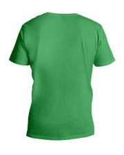 Skeleton Dogs V-Neck T-Shirt back