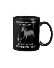 Wine and Andalusian Horse Mug thumbnail